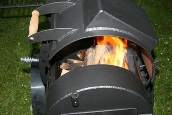 Smoker Feuerbox